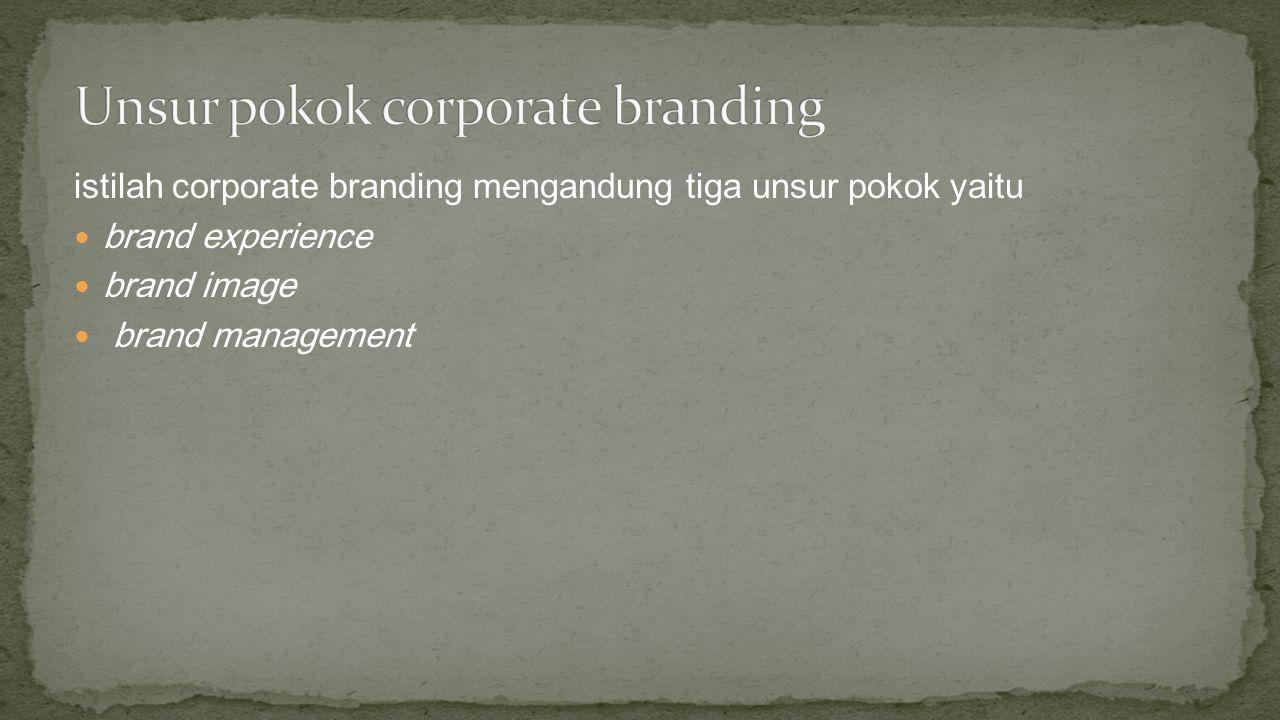 Brand experience Brand Experience adalah pengalaman yang dibentuk oleh perusahaan untuk khalayak yang berupa interaksi dengan merk perusahaan.