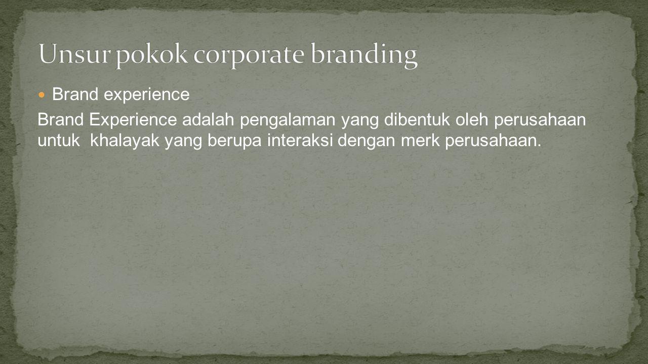 Brand image : Brand Image adalah citra yang dibangun dalam alam bawah sadar konsumen melalui informasi dan ekspektasi dari produk atau jasa.