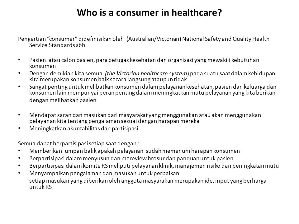 Chapters in Section 2 Healthcare organization centered standards 9.