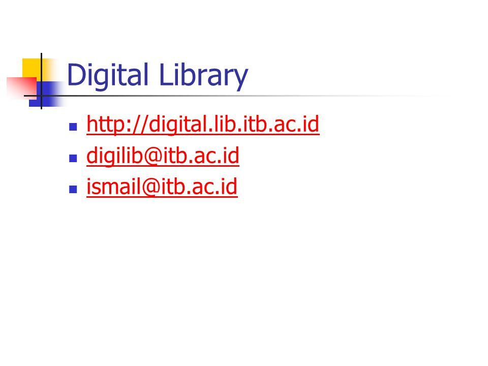 Digital Library http://digital.lib.itb.ac.id digilib@itb.ac.id ismail@itb.ac.id