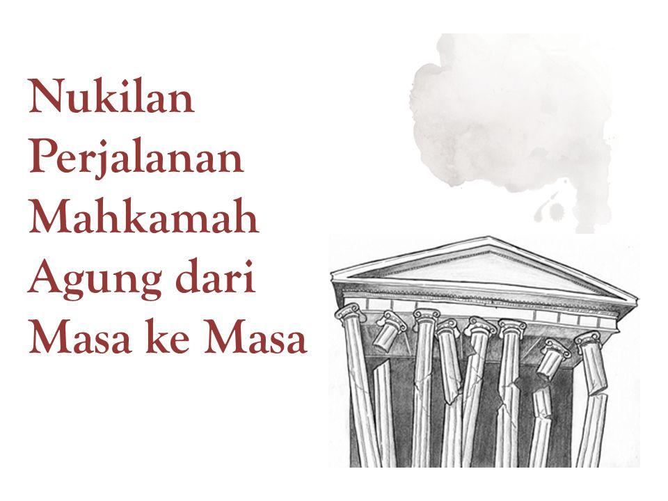 Nukilan Perjalanan Mahkamah Agung dari Masa ke Masa