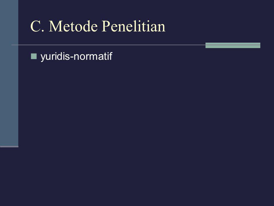 D.Pembahasan 1. Pengaturan pengujian perundang-undangan di Indonesia 2.