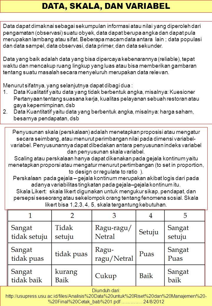 SURVEI SOSIAL Diunduh dari: http://indudt.blog.fisip.uns.ac.id/2012/03/01/metode-survey-dalam-metode- penelitian-kuantitatif/ ………….. 24/8/2012 Survei