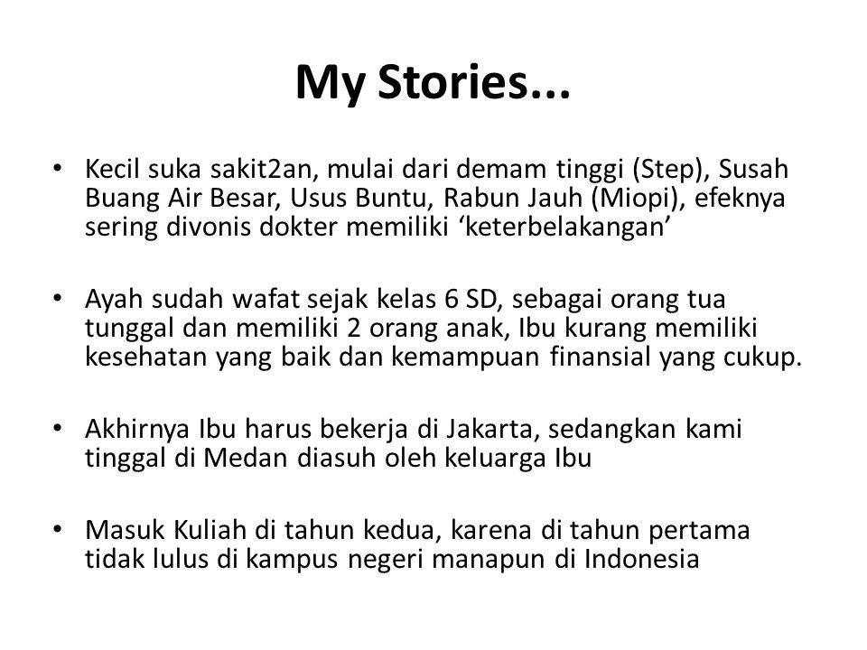 My Stories...