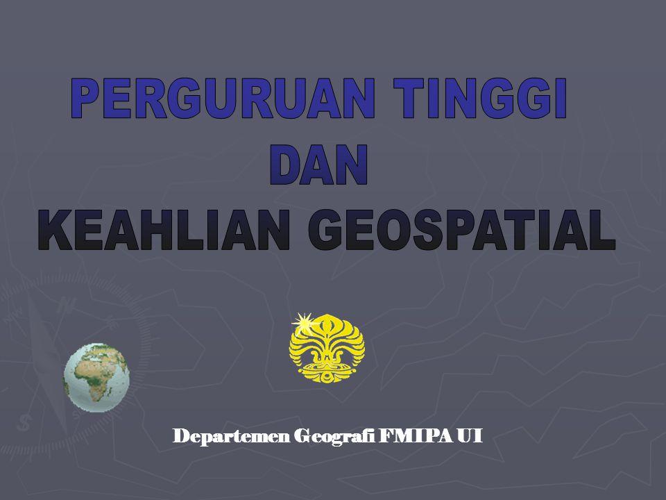 Departemen Geografi FMIPA UI