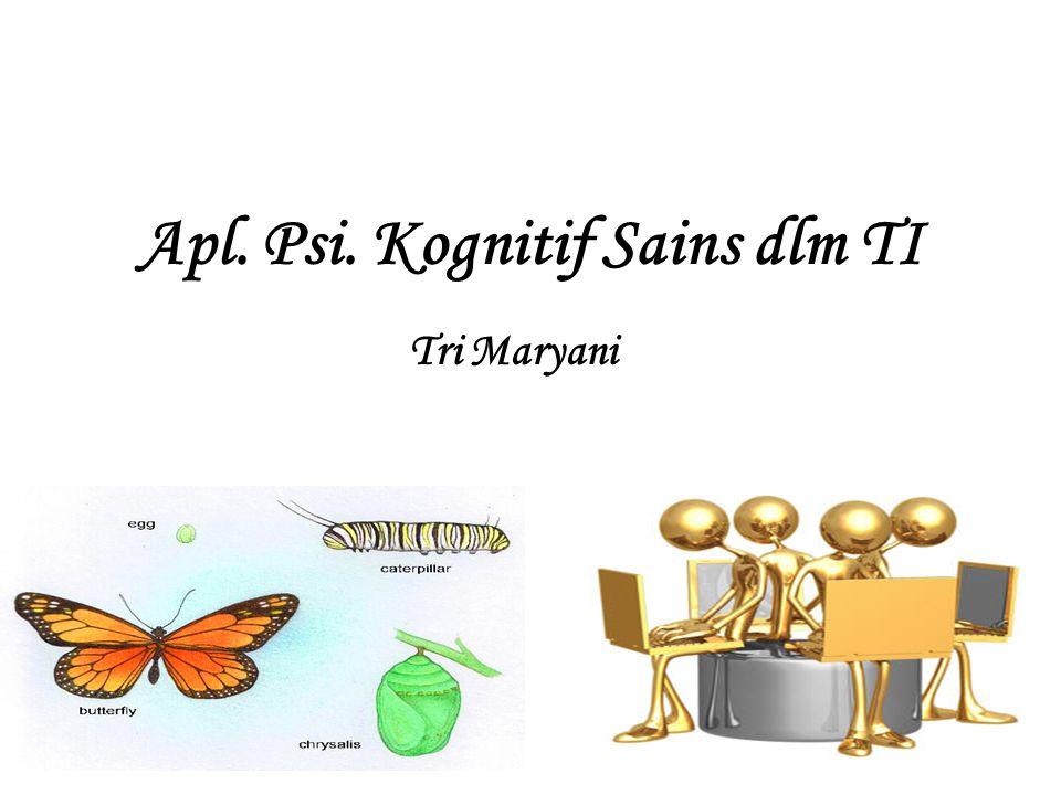 Apl. Psi. Kognitif Sains dlm TI Tri Maryani