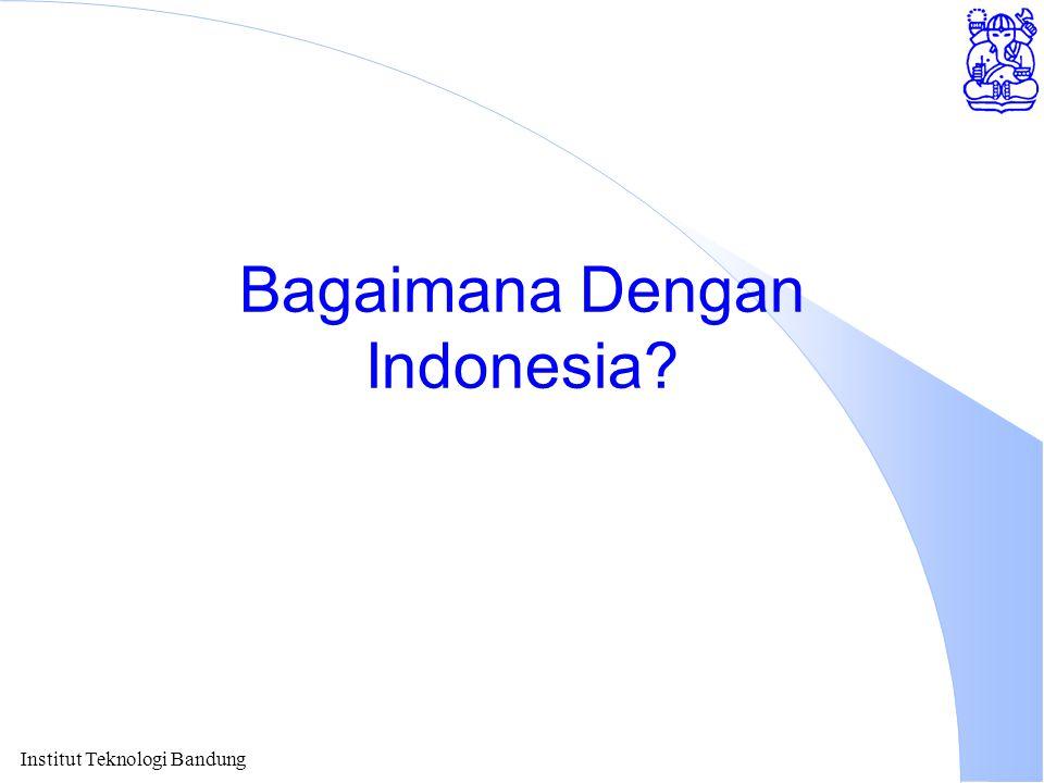 Institut Teknologi Bandung Bagaimana Dengan Indonesia?
