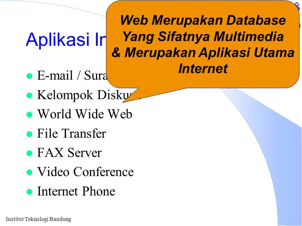 Institut Teknologi Bandung Mari Berhitung....l Pembangunan Local Area Network (LAN).