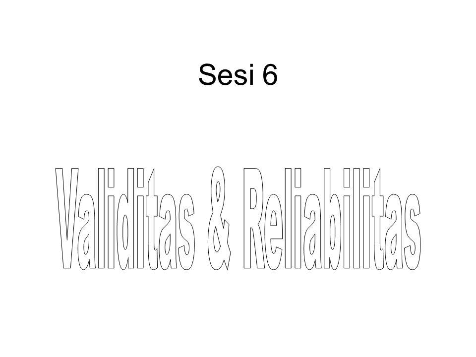 ANALISIS INSTRUMEN PENELITIAN 1.UJI VALIDITAS 2.UJI RELIABILITAS