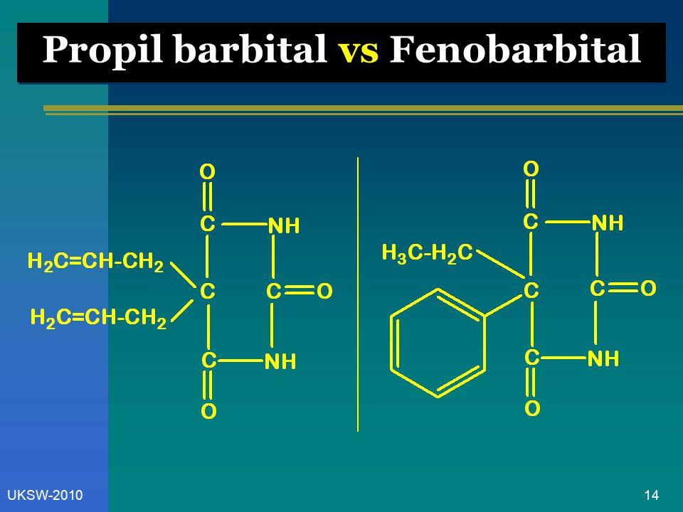 14UKSW-2010 Propil barbital vs Fenobarbital