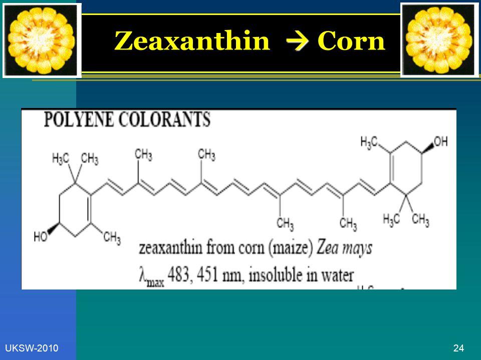 24UKSW-2010  Zeaxanthin  Corn