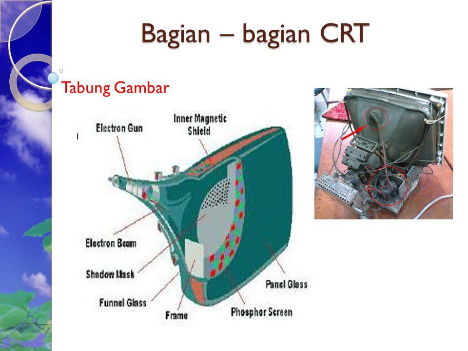 Cont'd Tampilan dapat dibagi sebuah layar menjadi 3 atau 4 dalam satu monitor atau menggunakan beberapa layar untuk dijadikan satu tampilan