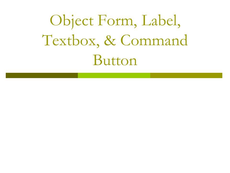 Checkbox Properties  TabIndex Nomor urutan index perpindahan cursor ketika tombol TAB ditekan.