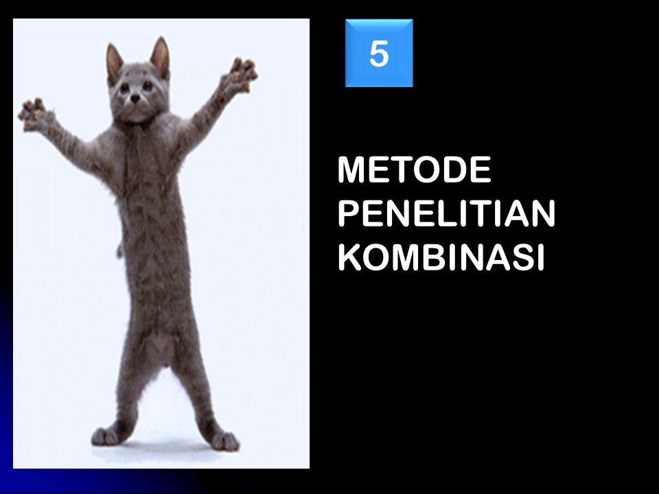 METODE PENELITIAN KOMBINASI 5 5