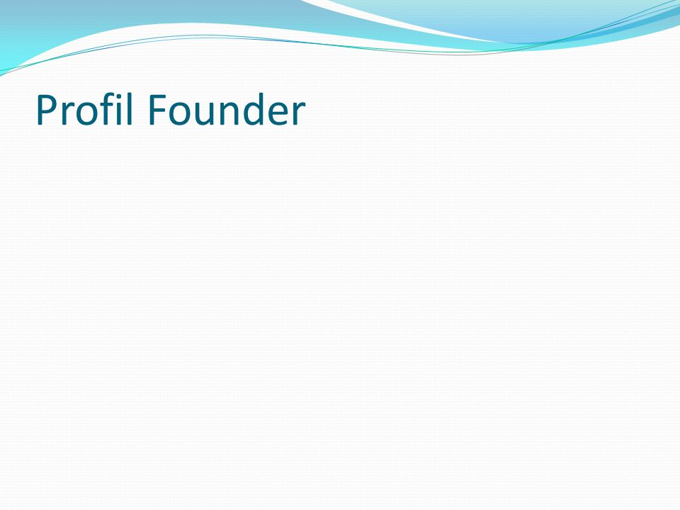 Venture Capital.