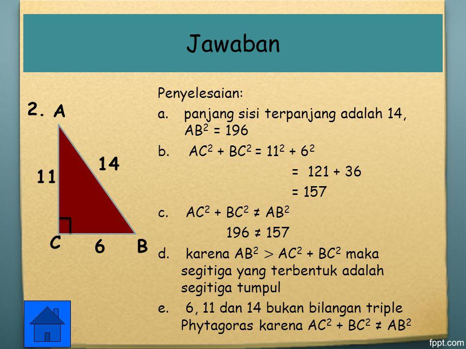 2. A E C A B C D H E F G Jawaban
