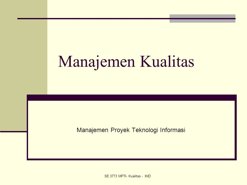 22 IT Project Management, Third Edition Chapter 8 Examples of Six Sigma Organizations Motorola, Inc.
