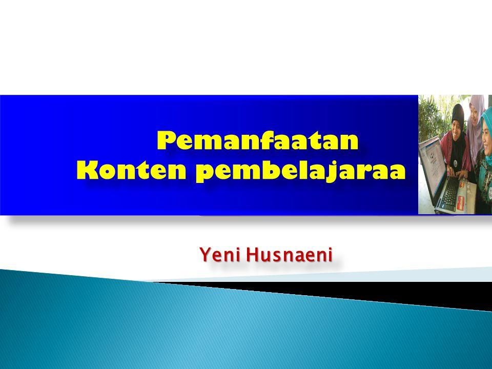Yeni Husnaeni Yeni Husnaeni Pemanfaatan Konten pembelajaraa