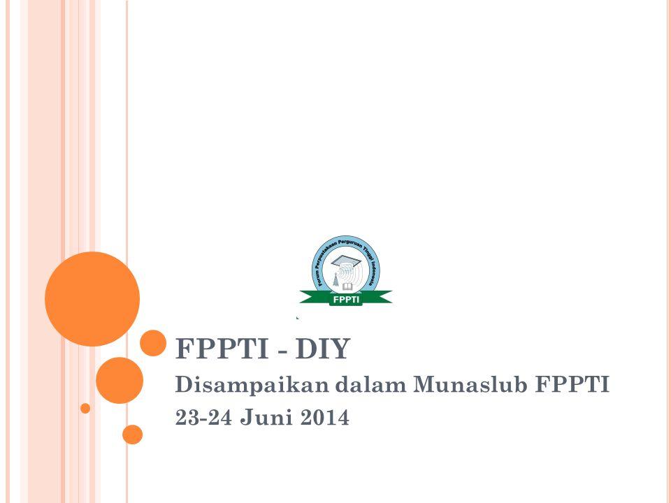 FPPTI - DIY Disampaikan dalam Munaslub FPPTI 23-24 Juni 2014