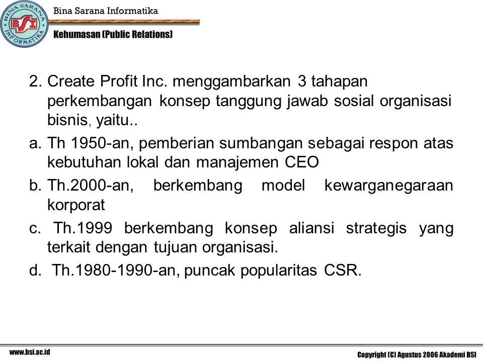 2.Create Profit Inc.