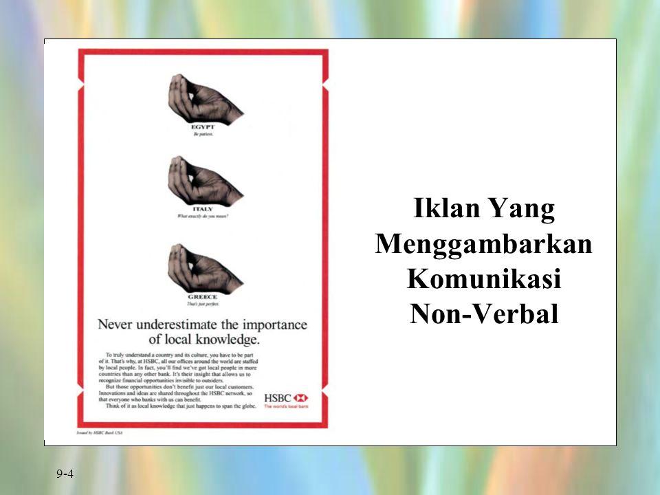 9-4 Iklan Yang Menggambarkan Komunikasi Non-Verbal
