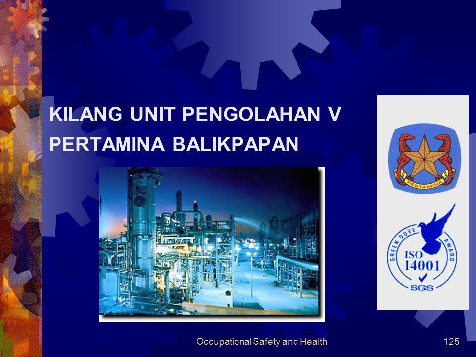 Occupational Safety and Health124 Asset Semua peralatan yang dimiliki perusahaan diasuransikan.