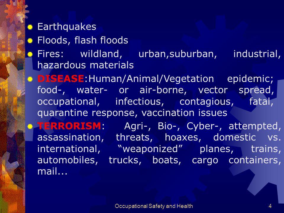 Occupational Safety and Health74 Masalah lingkungan Sumber pencemar :  Limbah gas (CO 2, SO x, NO x,dll)  Limbah cair (Limbah Hg, C 5 +,dll)  Limbah padat (partikulat, Smog, dll) Dampak negatif dari beberapa aspek:  biologis: *.