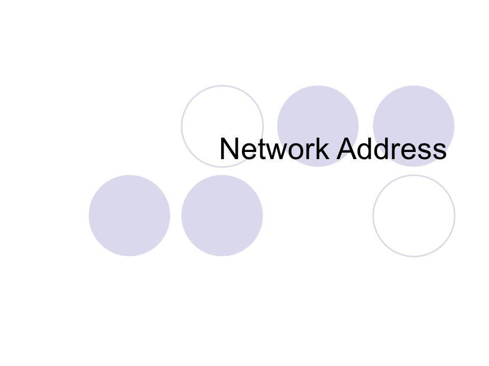 Type of Network Address Logical Alamat suatu jaringan yang dihasilkan oleh software (logic) Physical Alamat suatu jaringan yang dihasilkan oleh hardware (physic)