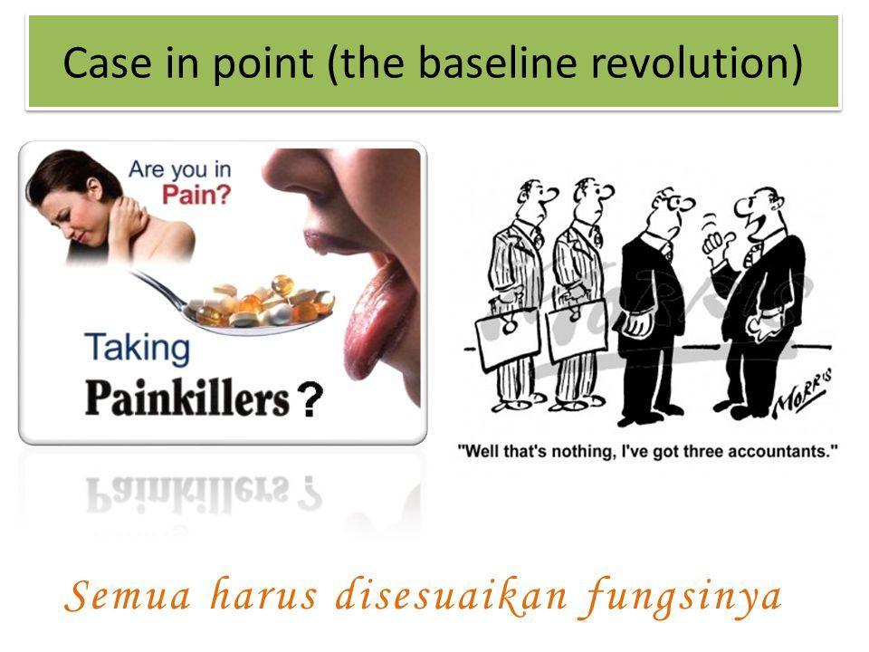 Semua harus disesuaikan fungsinya Case in point (the baseline revolution)