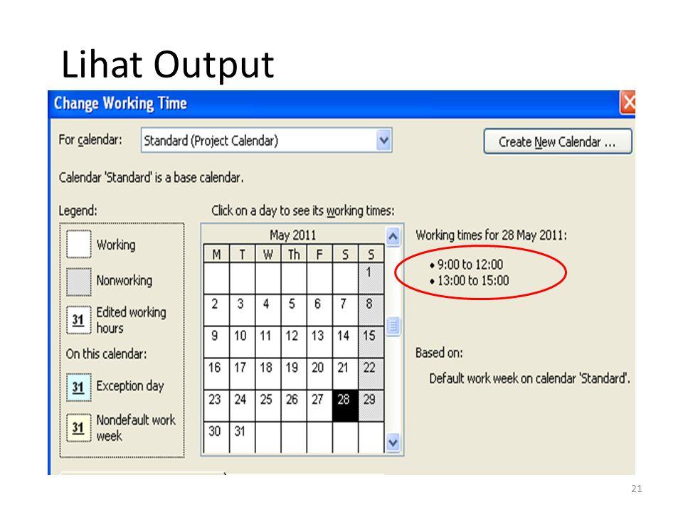 Lihat Output 21