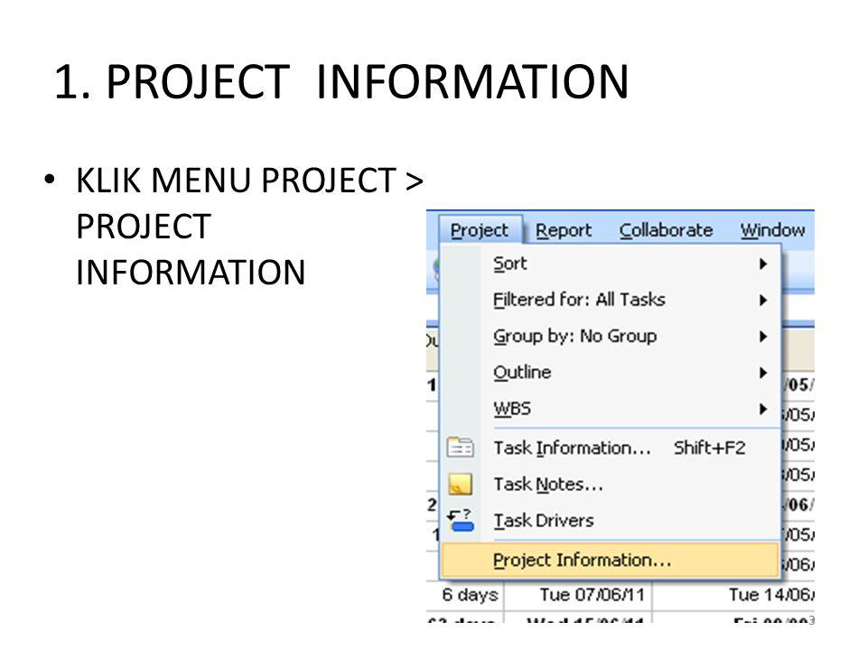 1.Klik File, New.
