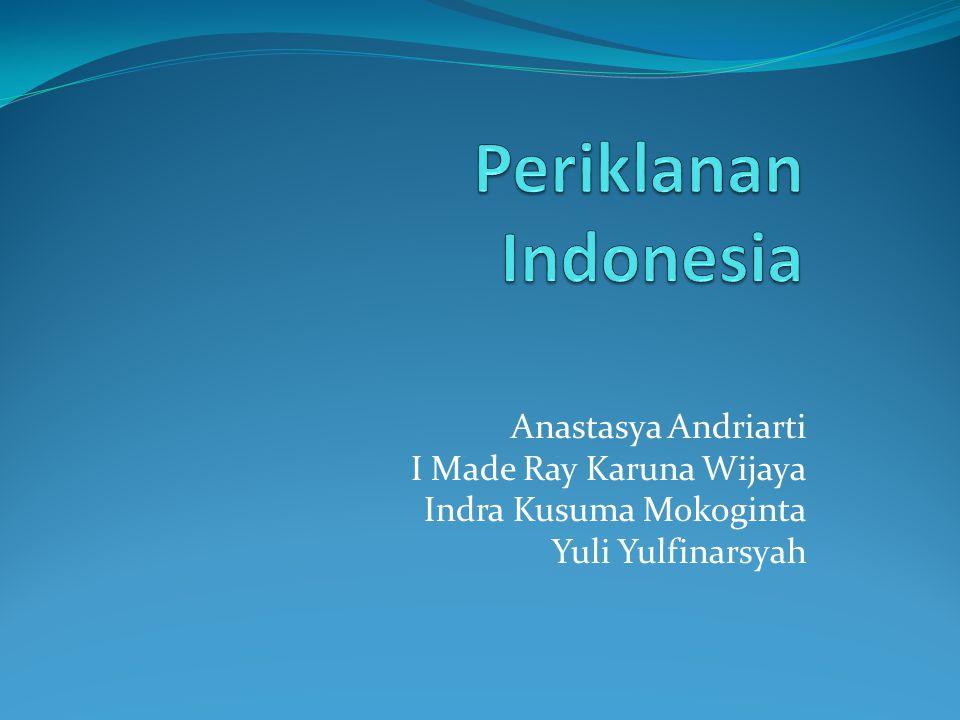 Anastasya Andriarti I Made Ray Karuna Wijaya Indra Kusuma Mokoginta Yuli Yulfinarsyah