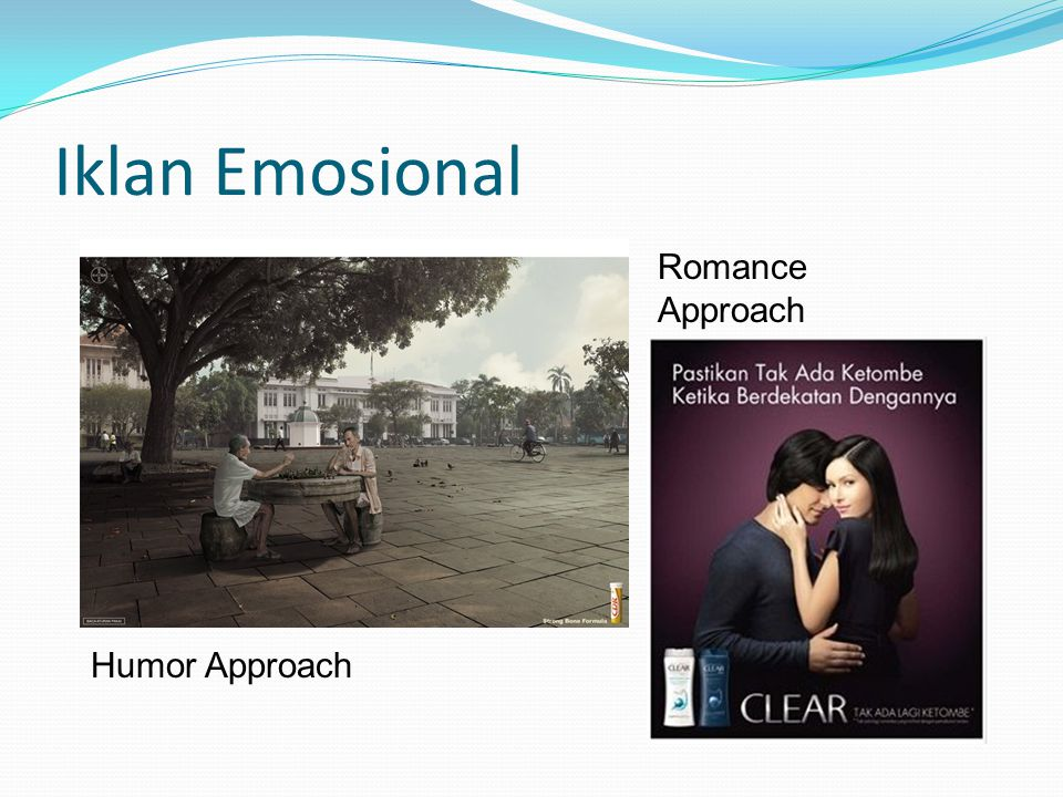 Iklan Emosional Humor Approach Romance Approach