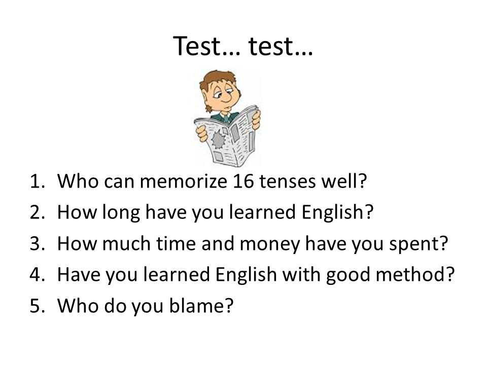 Read me…..Kenapa 16 Tenses.
