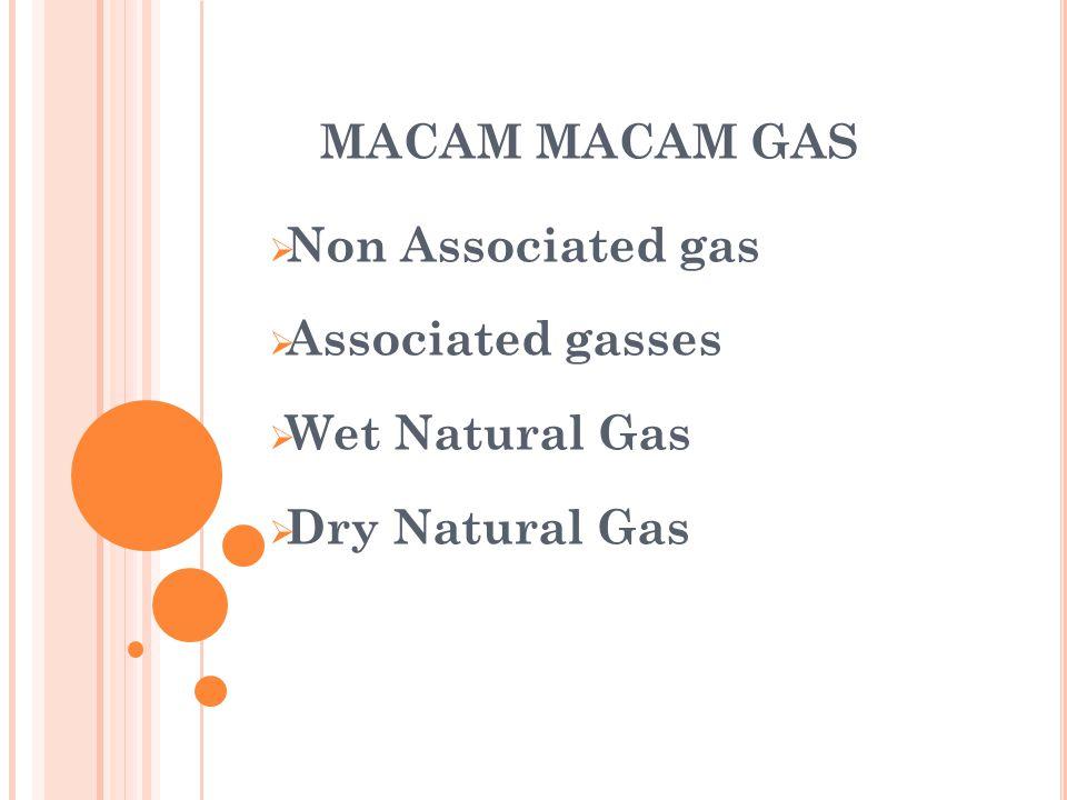 KARAK TERISTIK GAS  Specific Gravity. Tekanan Uap.