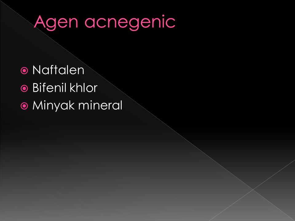  Naftalen  Bifenil khlor  Minyak mineral