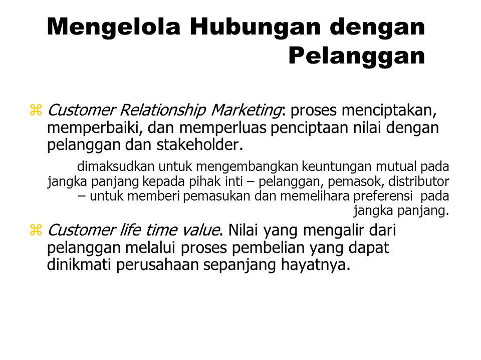 ORIENTASI BATASAN DAN CIRI-CIRI 3. Penjualan Perusahaan beranggapan bahwa pelanggan tidak akan melakukan pembelian yang cukup kecuali dalam skala besa