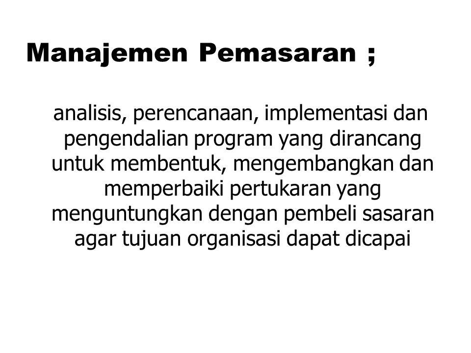 Indonesian Work Force by Education Tantangan Pemasar 1.Pertumbuhan Perusahaan Nir-Laba 2.Boom Teknologi 3.Internet 4.Globalisasi yang Cepat 5.Perubahan Perekonomian 6.Tuntutan Etika dan Tanggungjawab 7.Landasan Pemasaran yang Baru