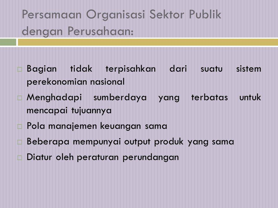 Perbedaan Stakeholder Sektor Publik Dengan Sektor Swasta 16-Apr-15 14 Sumber: Mardiasmo, 2002 Stakeholder Eksternal: 1. Masyarakat pengguna jasa publi