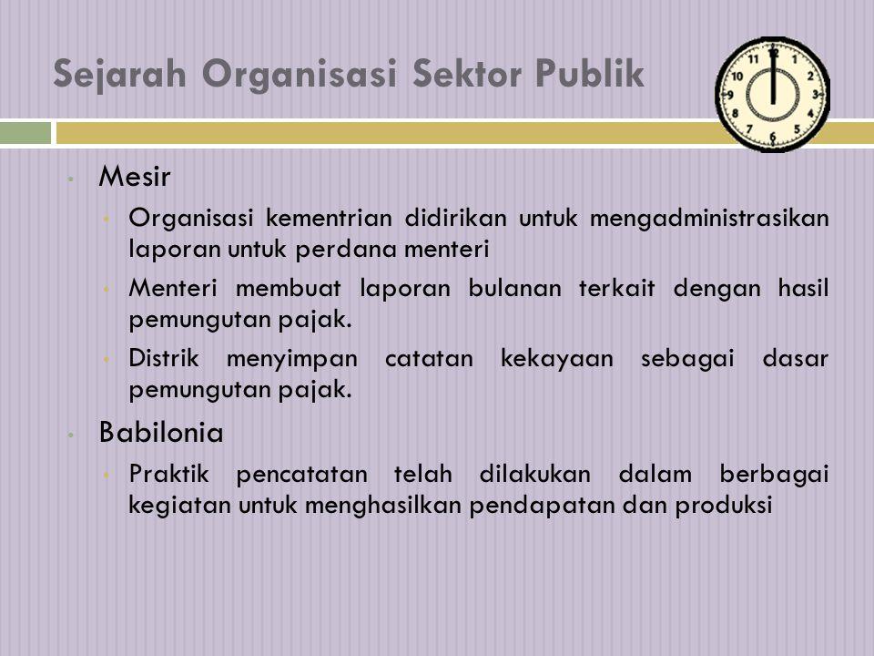 Persamaan Organisasi Sektor Publik dengan Perusahaan:  Bagian tidak terpisahkan dari suatu sistem perekonomian nasional  Menghadapi sumberdaya yang