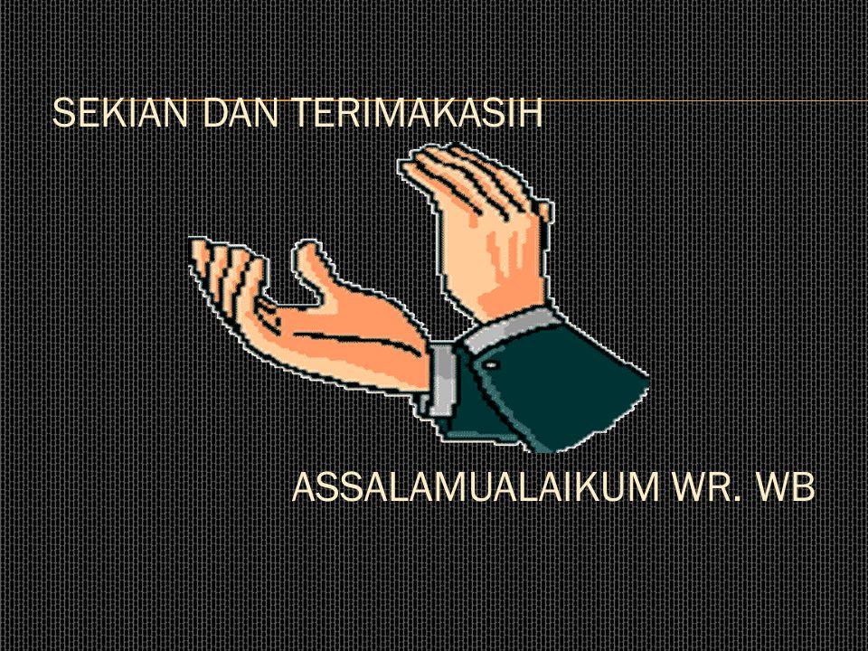 Mewujudkan Indonesia sebagai negara modern yang tertata rapi serta konsisten dengan Rencana Tata Ruang Wilayah.