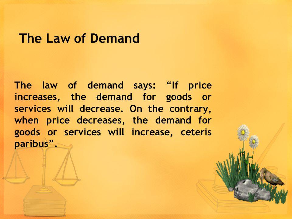 1. Menginterpretasikan hukum permintaan dan penawaran. 2. Menginterpretasikan asumsi yang mendasari hukum permintaan dan penawaran. 3. Menggambar kurv