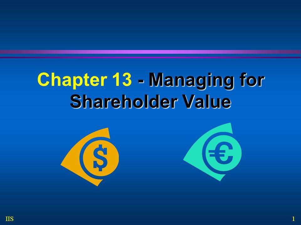 2 IIS Tujuan Pembelajaran Mahasiswa mampu untuk: Menggunakan market value added untuk mengidentifikasikan nilai yang diciptakan untuk pemegang saham perusahaan publik Menaksir nilai perusahaan dengan menggunakan discounted free cash-flow model.