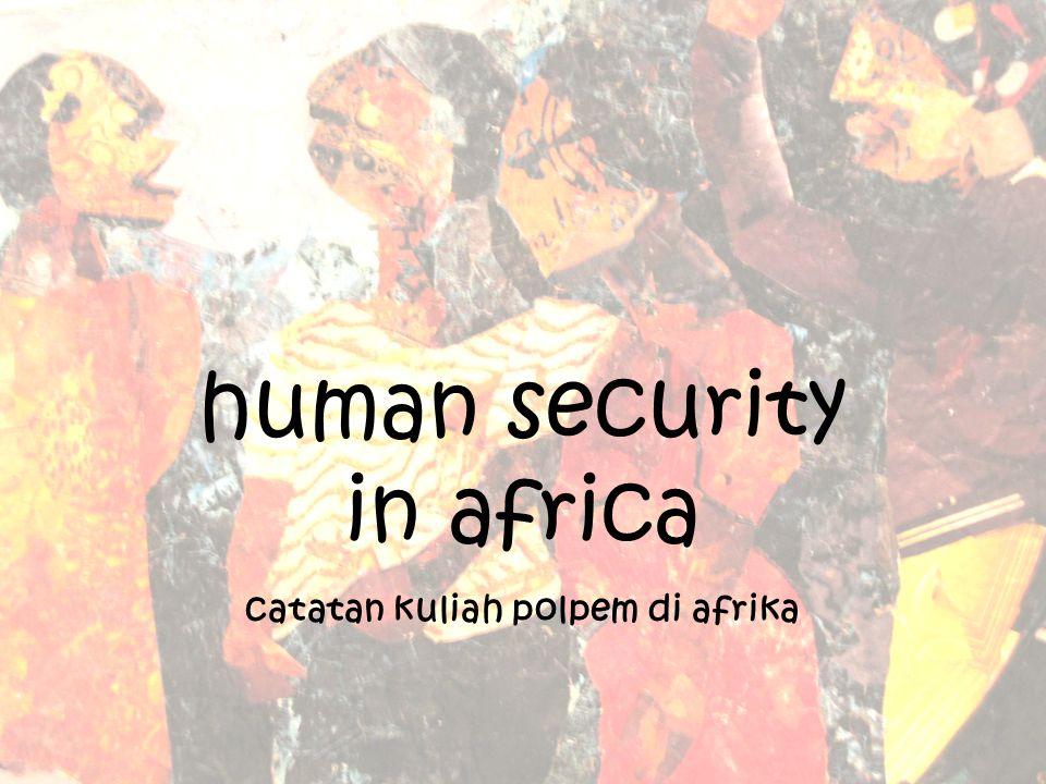 diskusikan apa saja masalah/bentuk human insecurity di negara-negara yang anda teliti.