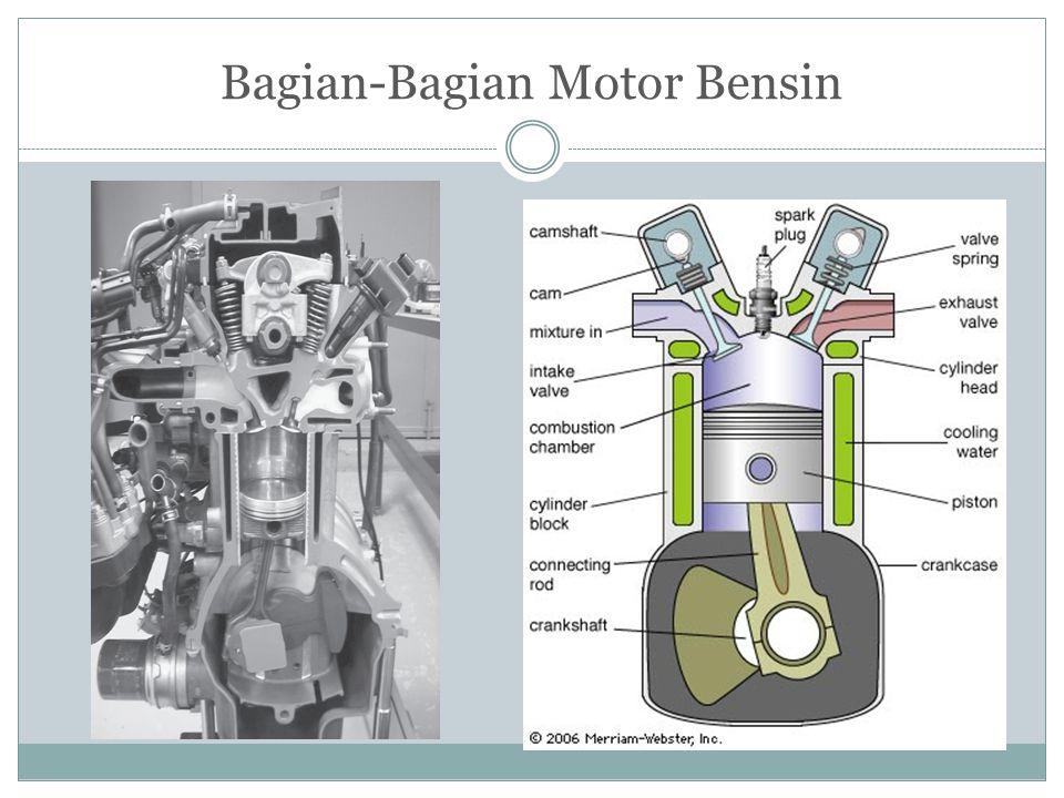 Bagian-Bagian Motor Bensin