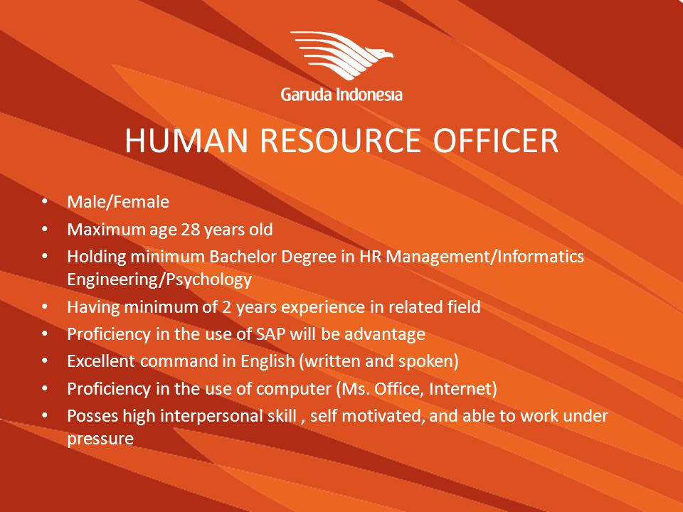 ACCOUNTING OFFICER Male / Female Candidate must possess at least a Bachelor s Degree In Accountancy with minimum GPA 3.00 Having experience in Big Four Public Accounting Firm.