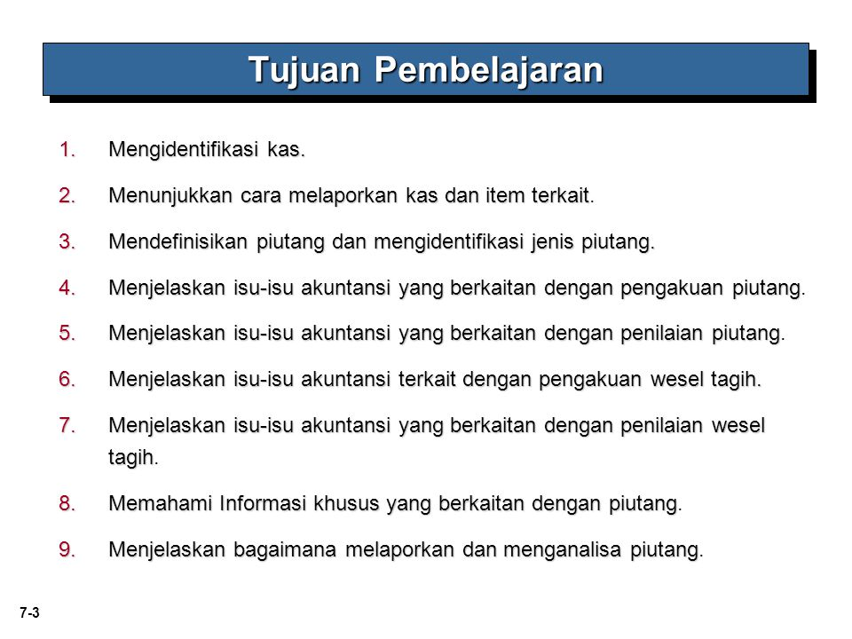 7-44 Didukung oleh promissory note Notes Receivable LO 6 Explain accounting issues related to recognition of notes receivable.