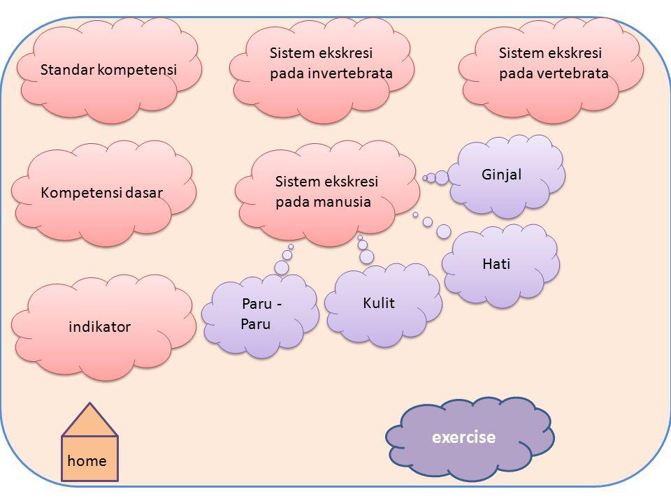 Sistem ekskresi Created by : Fitria Anggraeni 1111016100030 Created by : Fitria Anggraeni 1111016100030