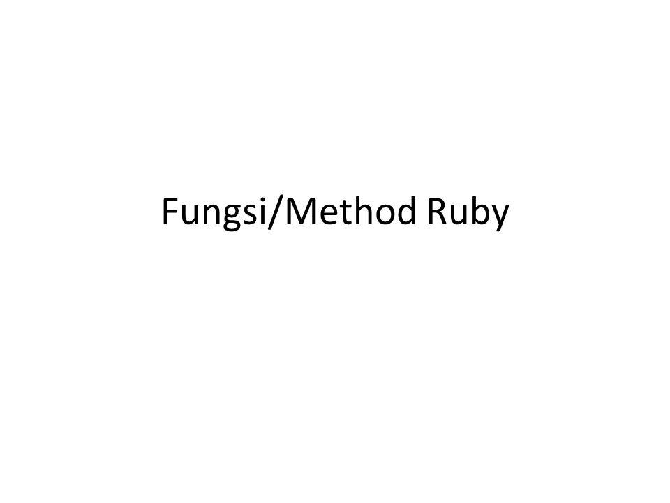 Pendahuluan Fungsi merupakan blok dari kode yang dirancang untuk melakukan tugas khusus.