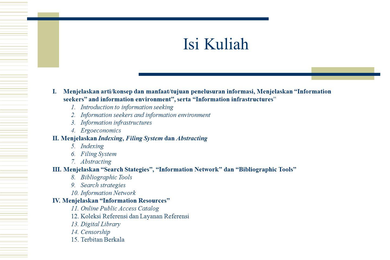 = Information Seeking = Information Exploration = Information Searching = Information Retrieval = Information Digging = Survey of Information